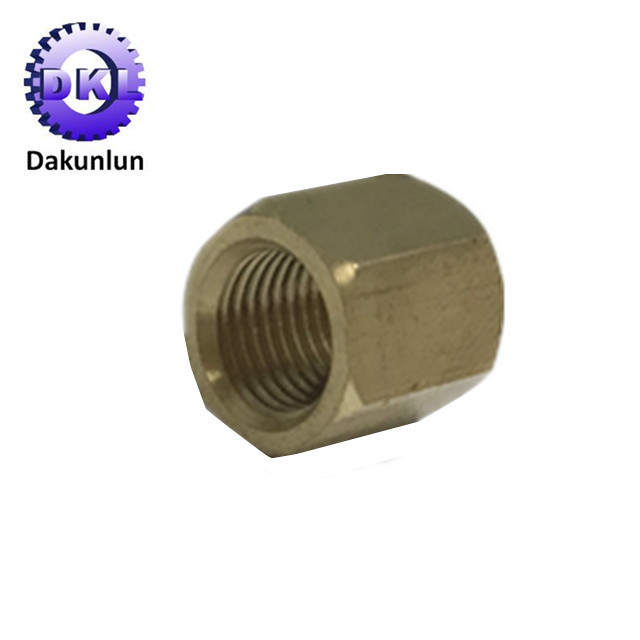 Brass Hex Bolt With Inner Thread Hex Stud